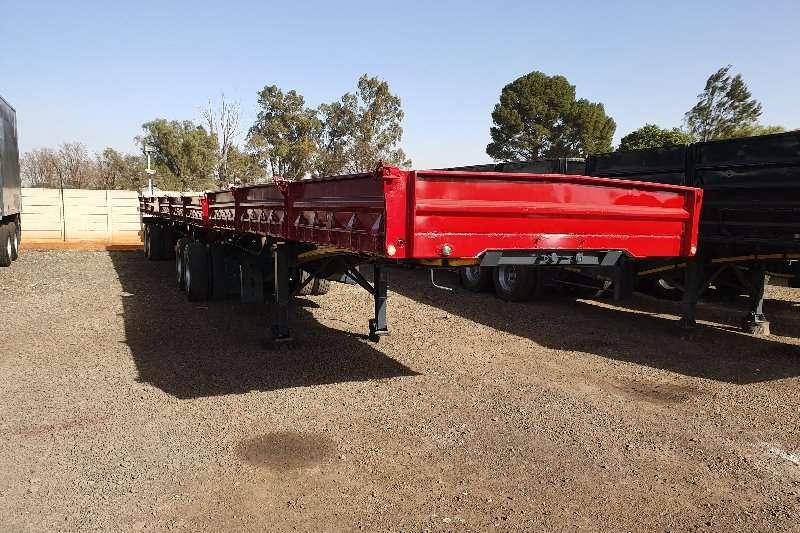SA Truck Bodies Trailers Superlink 6x12m superlink 3 x 6m bins + container locks 2014