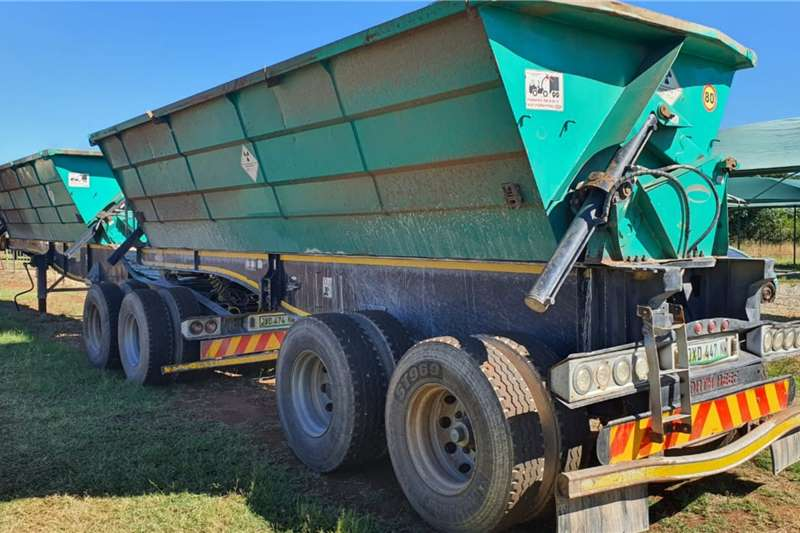 SA Truck Bodies SUPERLINK SIDE TIPPER Trailers