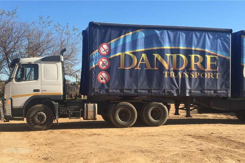 SA Truck Bodies Trailers Tautliner 1 x Tautliner link(Truck Tractor not included) 2006