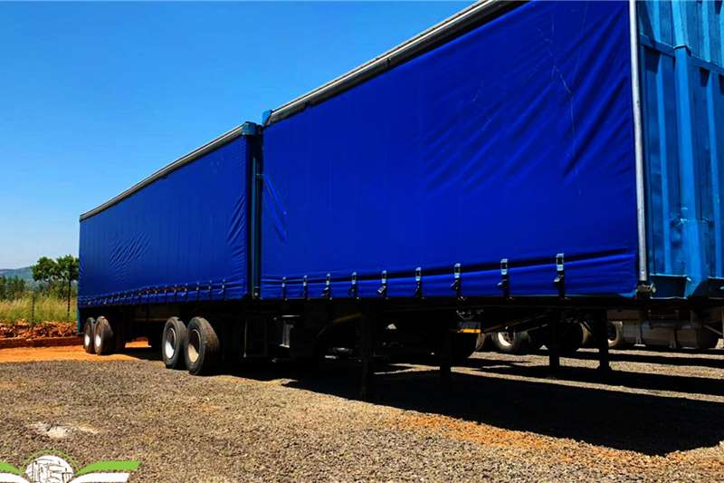 SA Truck Bodies Trailers Tautliner 1997 SA Truck bodies tautliner super link 1997