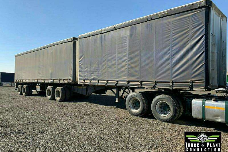 SA Truck Bodies Trailers Tautliner 2000 SA Truck Bodies Tautliner 2000