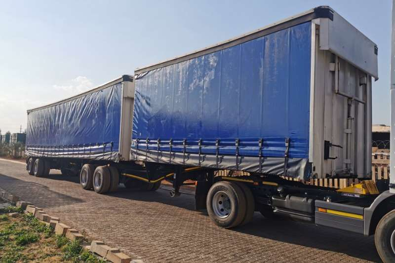 SA Truck Bodies Trailers Tautliner Superlink tautliner 2009