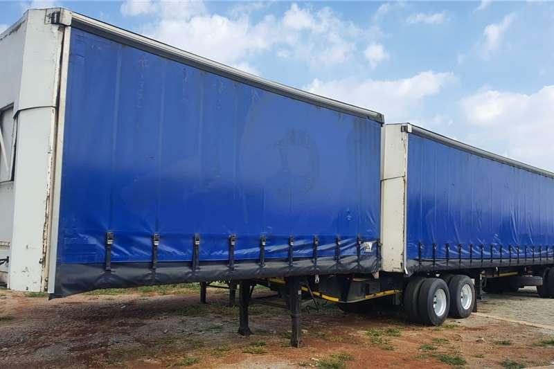 SA Truck Bodies Trailers Tautliner Superlink Tautliner elevating roof 2009