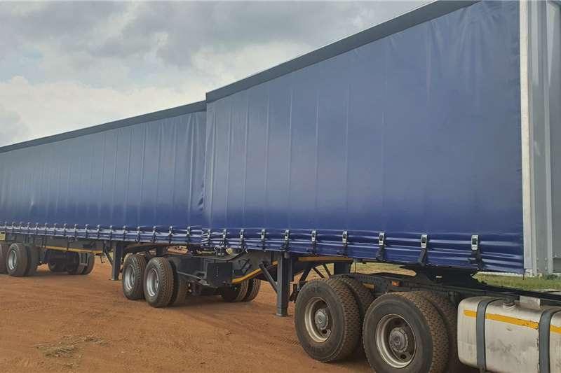 SA Truck Bodies Tautliner Tautliner Link Trailer Trailers