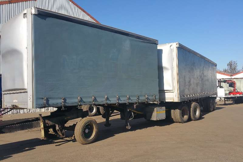 SA Truck Bodies Trailers Tautliner Tautliner Superlink 2017