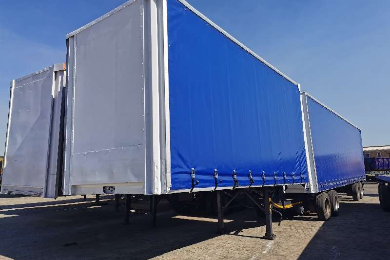 SA Truck Bodies Trailers Tautliner VOLUMAX 2009