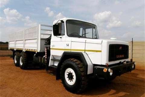 Samag Dropside trucks 120 Dropside with Crane 1995