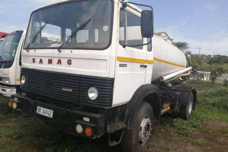 Samag Truck Bobcat with Spray Jet + Septic Tank