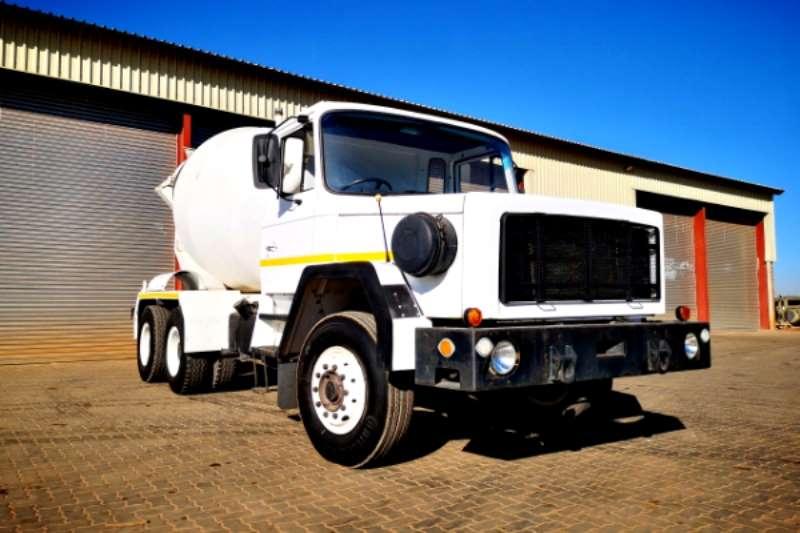 Samag Truck Concrete mixer Samag 120 6m³ Concrete Mixer