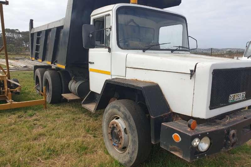 Samag Truck Tipper 10 CUBIC TIPPER + MEILER BIN