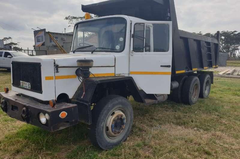 Samag Truck-Tractor Double axle 10 CUBIC TIPPER + MEILER BIN