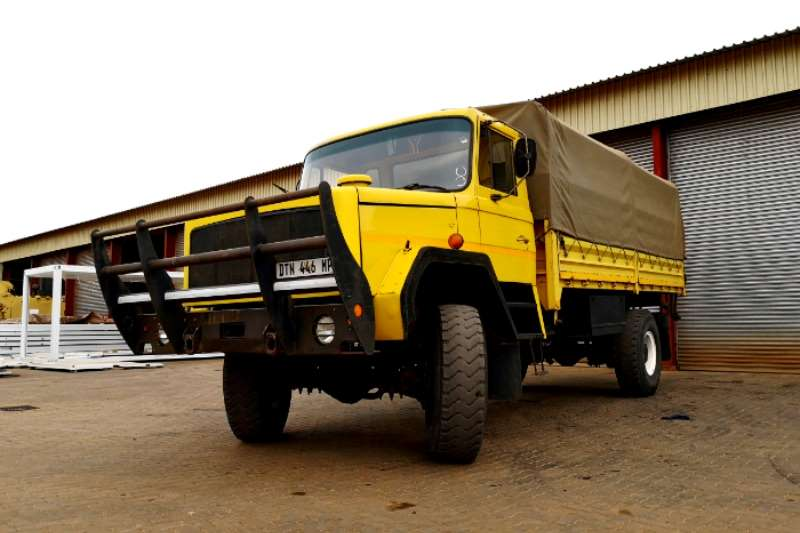 Samil Dropside trucks Samil 50 Dropside with Canvas Cover