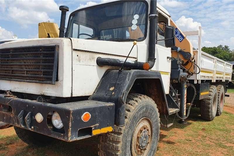 Samil Truck (6x6) (14t) D side + Copma (23t) Crane 1980