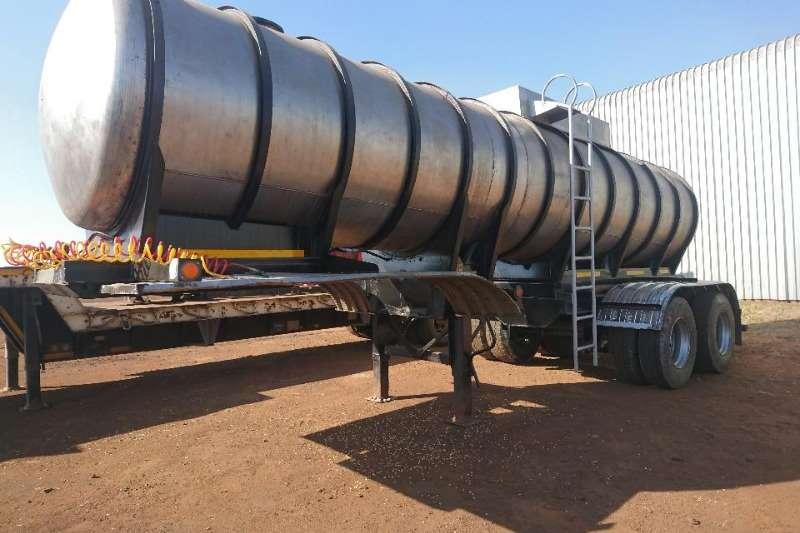 Samtor Trailers 316 (20000L) S/Steel Tanker