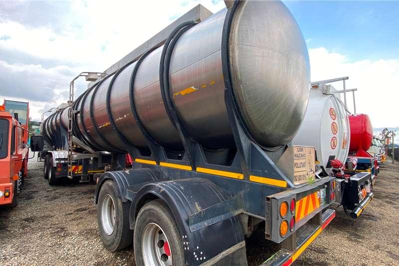 Samtor 40 000L Bitumen Tanker Trailers