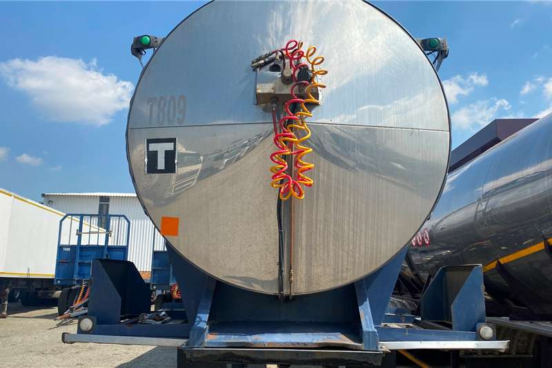Samtor HFO  33 000L Mild Steel Cladded Mint Condition Trailers