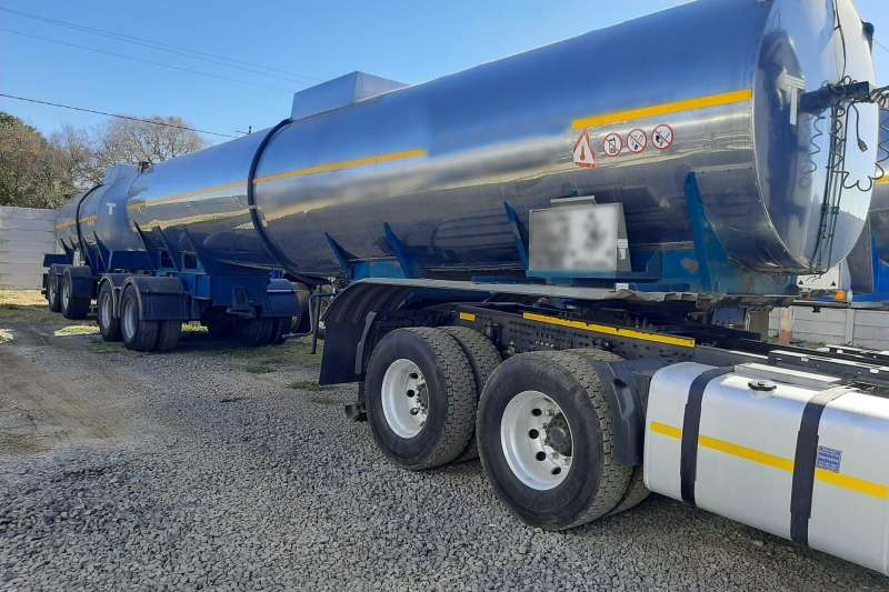 Samtor Trailers Stainless steel tank 35 000lt Stainless Steel Tanker with Pup 2002