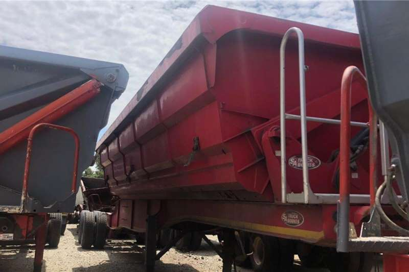 SATB Trailers 2017 SA Truck Bodies 45 Cube Front Tipper Only 2017