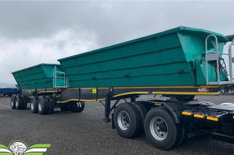SATB Trailers 2017 SA Truck Bodies Side Tipper 2017