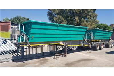 SATB 2017 SATB 40cube Side Tippers Trailers