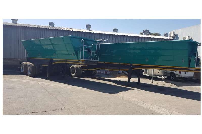 SATB Trailers 3x 2017 2016 SATB 40cube Side Tippers 2017