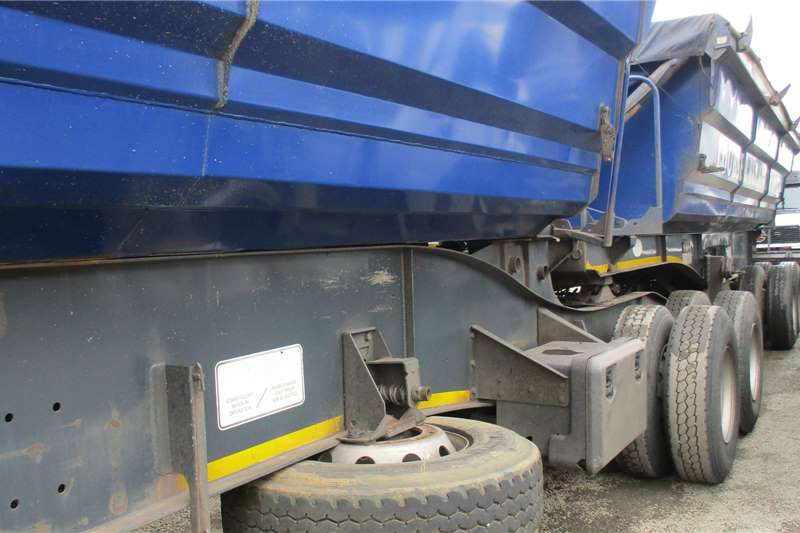 SATB Trailers 40 Cube Side Tipper Combo 2017