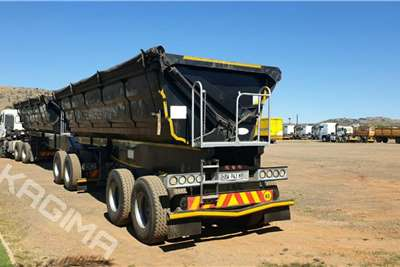 SATB 45 Cube Side Tipper Link Trailers