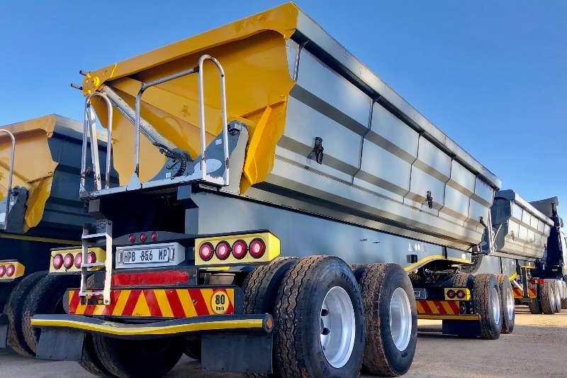 SATB Trailers Acid Tanker SATB Side Tipper Interlink 2015