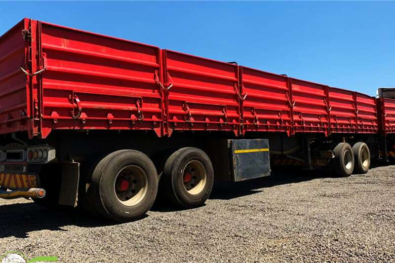 SATB Trailers Dropside 2014 SA Truck Bodies drop side super link trailers 2014