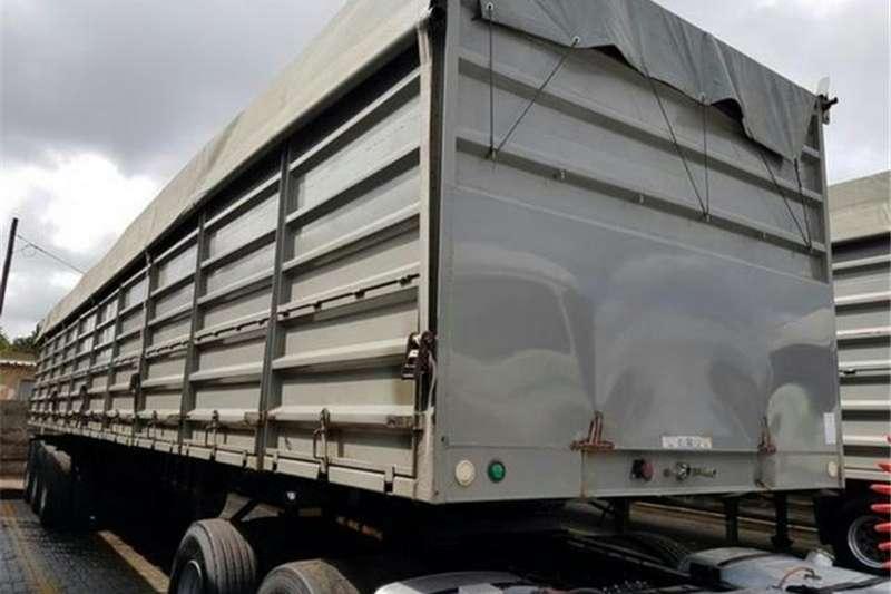 SATB Trailers Dropside 2016 SA Truck Bodies Tri-Axle V-Neck Dropside 2016