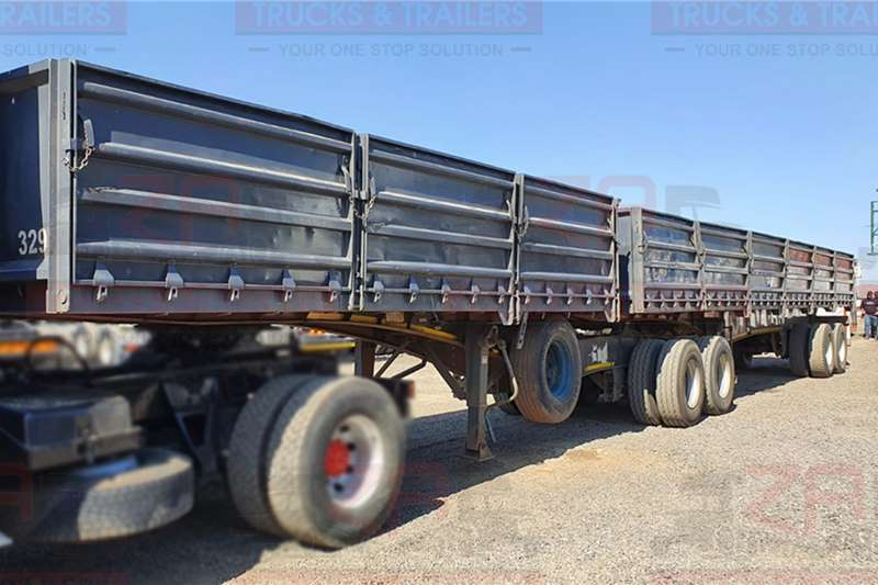 SATB Trailers Dropside SA TRUCK BODIES TRAILER WITH 1.2m DROP SIDES 2013