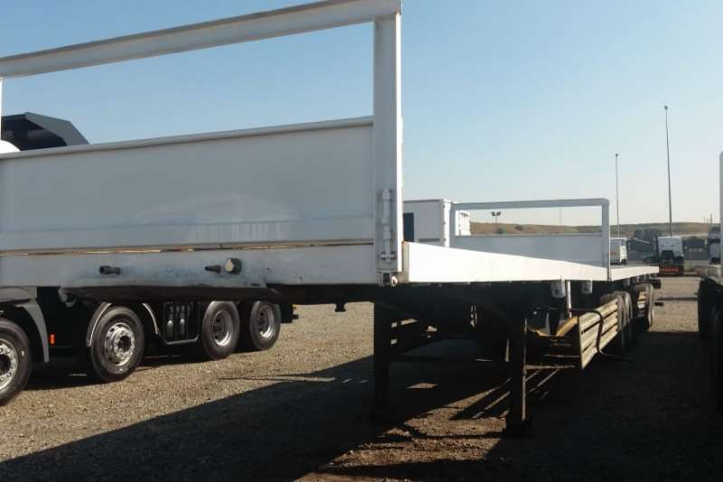 SATB Trailers SA Truck Bodies Flatdeck Link Trailer 2012