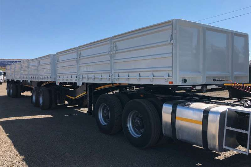 SATB Trailers Tri-Axle High Sided Superlink Trailer 2011