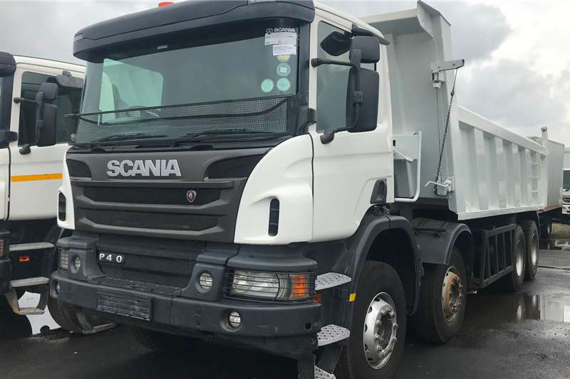 Scania Tipper trucks 2016 Scania P410 8x4 18 cube tipper 2016
