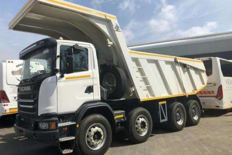 Scania Tipper trucks 410 HP G Series 2016