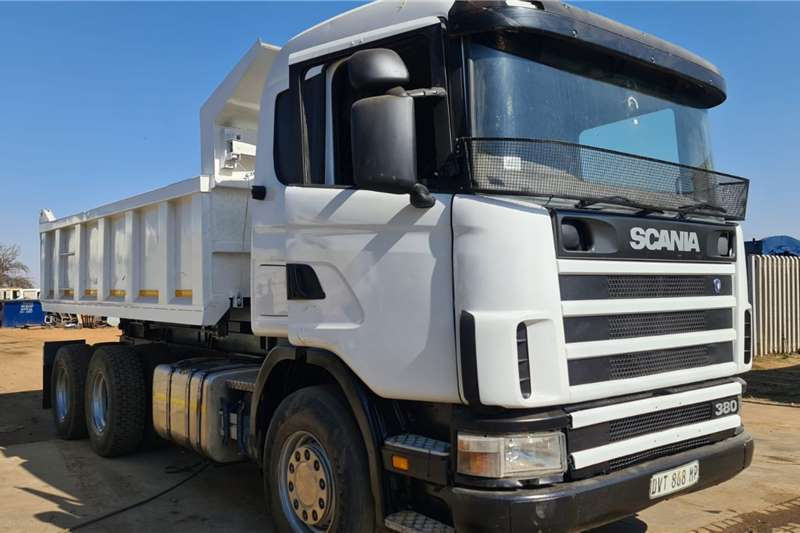 Scania Scania 10 cube tipper truck Tipper trucks