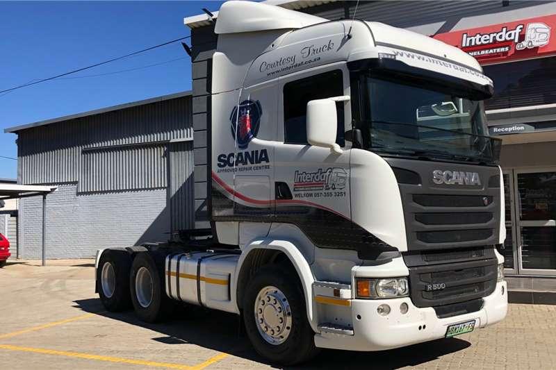 Scania Truck 2015 Scania R 500 2015
