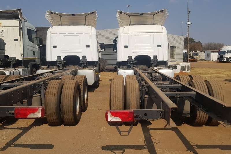 Scania Truck Chassis Cab P250 2013