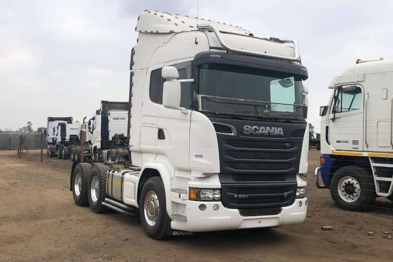Scania Chassis cab SCANIA R 580 LOW MILEAGE Truck