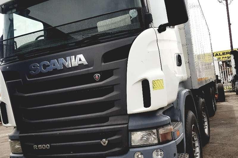 Scania Truck Closed body SCANIA R500 16T C.BODY 2010
