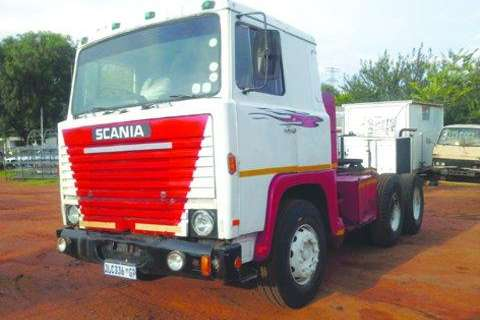 Scania Truck D/Diff Mechanical Horse V8 Motor-