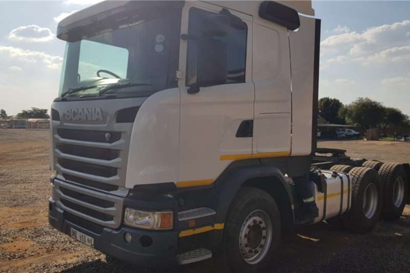 Scania Truck G460 6x4 Horse 2014