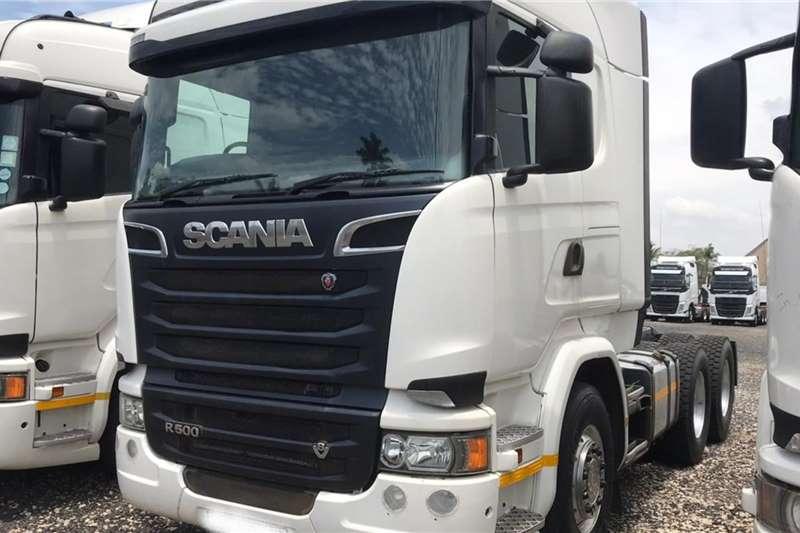 Scania Lowbed 2016 Scania R500 TT Truck
