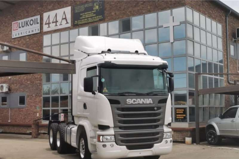 Scania Lowbed R410 2017 398000km Truck