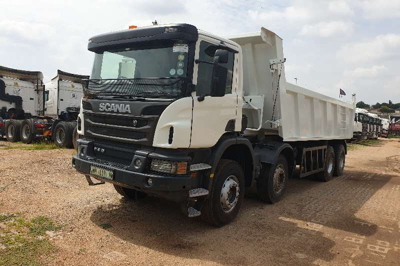 Scania Truck P410 Twin Steer Tipper 2016