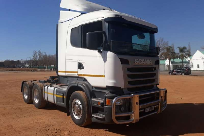Scania Truck R460 6x4 Mechanical Horse 2014