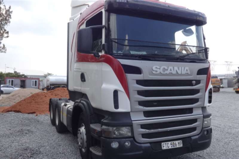 Scania Truck R470 6x4 Mechanical Horse 2012