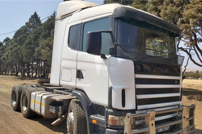 Scania R580 Truck Tractor 6x4 Truck