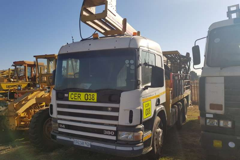 Scania Truck Scania 114 380 Drill Rig(Super Rock 1000)