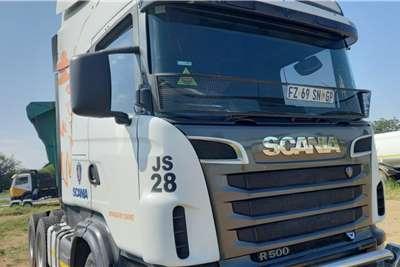 Scania SCANIA R500 2 AXLE HORSE GOOD COND Truck